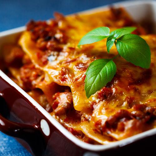 lasagne à la provencale plat fait maison par traiteur peypin les délices du sud